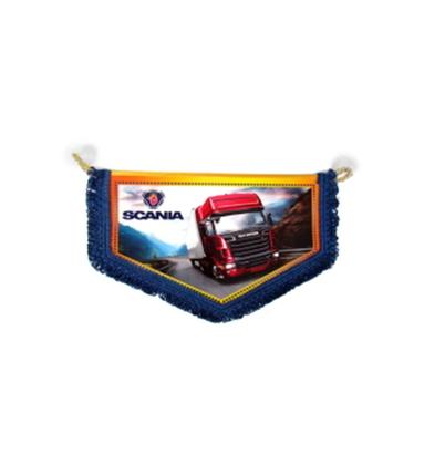 Вымпел новый большой Scania/1023