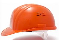 Каска строительная Украина (цвет оранжевый) (10621)