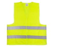 Жилет со светоотр. лентой Китай (цвет лимон) плотность ткани 80г/м2 состав polyester 100% размер 4ХL (64см)(10630)