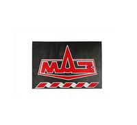 Брызговик 480х330 для грузовика МАЗ красная надпись (рис.) 1082 комплект MAZ