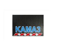 Брызговик для грузовика КАМАЗ размер 480х330 синяя надпись (рис.) 1083 комплект KAMAZ