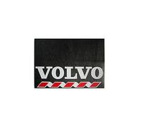 Брызговик для грузовика 480х330 VOLVO белая надпись (рис.) 1085 комплект