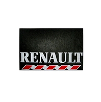 Брызговик для грузовика RENAULT 480х330  белая надпись  (рис.)  1087 комплект RENAULT