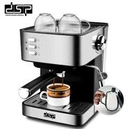 Кофеварка эспрессо рожковая кофемашина полуавтоматическая DSP Espresso Coffee Maker KA-3028 850W(11152)