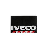 Брызговик для грузовика IVECO  480х330 белая надпись (рис.) 1131 комплект