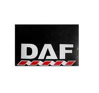 Брызговик для автомобиля DAF 480х330 белая надпись (рис.)  1132 комплект DAF