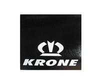 Брызговик с надписью KRONE 450х400 универсальный/1133