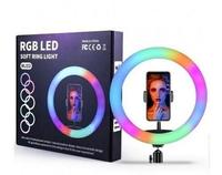 Кольцевая Ring Light RGB LED MJ-33 238 диодов 33 см(11334)