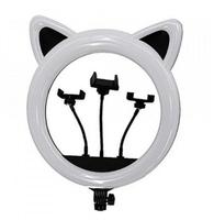 Кольцевая Ring Light With ears CAT 27 см (11339)
