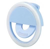 Селфи-кольцо Selfie Ring Light Blue (11341)