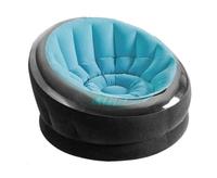 Надувное кресло Intex 66582, 112 х 109 х 69 см, голубое (11449)