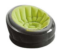 Надувное кресло Intex 66582, 112 х 109 х 69 см, зеленое (11450)