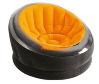 Надувное кресло Intex 68582, 112 х 109 х 69 см, оранжевое (11454)