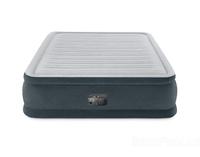 Надувная кровать Intex 64418, 152 х 203 х 56 см, встроенный электронасос. Двухспальная (11458)