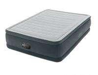 Надувная кровать Intex 64414, 152 х 203 х 46 см, встроенный электронасос. Двухспальная (11455)