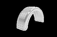 Алюмінієве крило для легкового причепа B=220 мм із захисним профілем (11637)