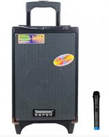 """Аккумуляторная Bluetooth колонка Temeisheng A8-2T 8"""" 100Вт с микрофоном (11668)"""