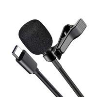Микрофон петличный MKF XO MKF02 Type-C(11730)