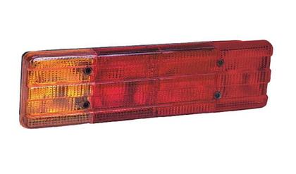 Фонарь задний Mersedes-609 (4 секции) SERTPLAS (красный)/1288