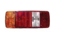 Фонарь задний MAN, MERCEDES (5 секций)  с центральной фишкой (разъемом) AMP /EM 0205 LF/1302 MAN