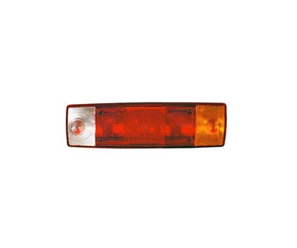 Стекло заднего фонаря DAF,RENAULT (5 секций)/1463/LU 0221