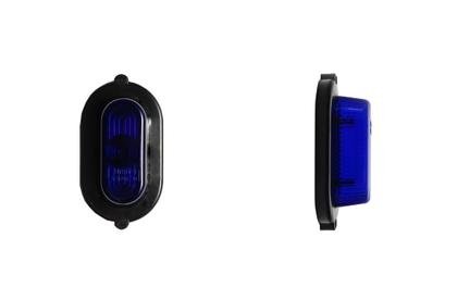 Габаритные огни кабины синие/1528
