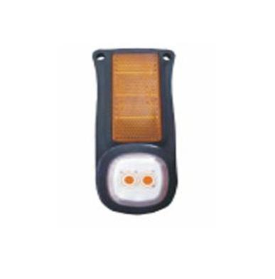 Повторитель габарита диодный с кронштейном+отражатель желтый/DOB-61/O Z