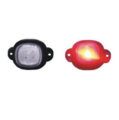 Повторитель габарита диодный (51,6х57,6) красный/DOB-60 C
