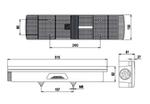 "Фонарь задний ""Volvo,Scania""( 7 секций) (93-02) ISIKSAN. (R) фишка ISS 1012 LS/1626"