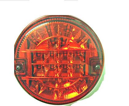 Фонарь задний универсальный круглый ISIKSAN LED (желтый)/1638