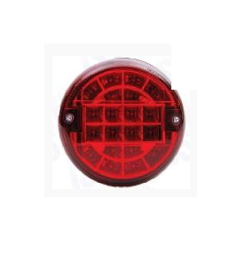 Фонарь задний универсальный круглый ISIKSAN LED (красный )/1641