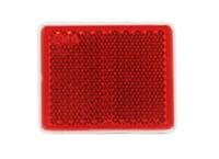 Отражатель квадратный красный (38х47) UO 236/1694