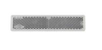 Отражатель прямоугольный белый (103-21mm)  UO 336 /1704