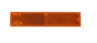 Отражатель прямоугольный желтый (103-21mm) UO 337 /1705