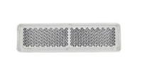 Отражатель прямоугольный белый (19-69) UO 087/1707