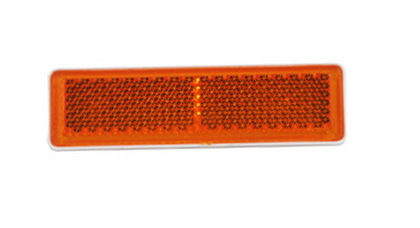 Отражатель прямоугольный желтый (19-69)  UO 088/1708