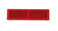 Отражатель прямоугольный красный (19-69)  UO 089/1709
