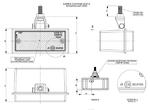 Лампа заднего хода белая с креплением LС 012/1716