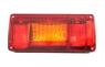 Фонарь задний с желтым поворотом R (218х100) LZT 328/2124