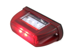 Подсветка номера HOR 63 красная LED диодная/LTD 669/1745