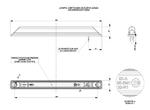 Подсветка салона диодная желтая (250мм)/LD 562/1752