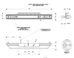 Подсветка салона диодная желтая с кронштейном (250мм)/LD 565/1753