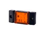 Габаритный фонарь диодный (73х33мм) желтый+кабель 0,5 м. 12/24v/LD 141/1763