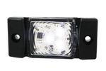 Габаритный фонарь диодный (73х33мм) белый+кабель 0,5 м. 12/24v/LD 140/1765