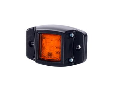 Габаритный фонарь диодный (74х47мм) желтый 12/24V/LD 439/1770