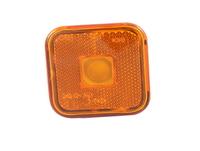 Габарит квадратный желтый (65х65мм) с отражателем (MAN)LО094/1795 MAN