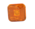 Габарит квадратный желтый (65х65мм) с отражателем (MAN)LО094/1795