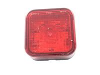 Габаритный фонарь квадратный (65х65мм) красный/LО 092/1799