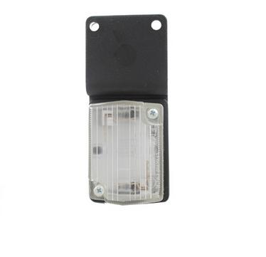 Габаритный фонарь белый (54х40мм) с кронштейном/1808/LOW 116