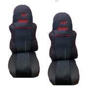 Чехлы сидений DAF XF106 винил-Blackout  (11693) DAF